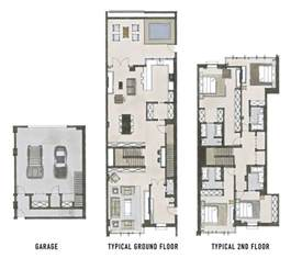 townhouses floor plans 390 best images about arch箘tectural presentat箘on m箘mar箘