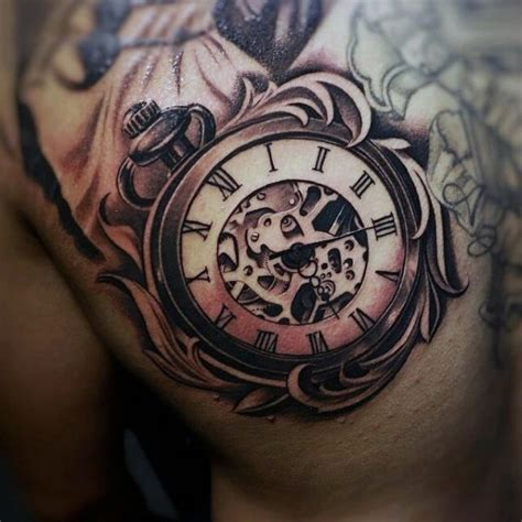 old clock tattoo designs image result for clock design tattoos