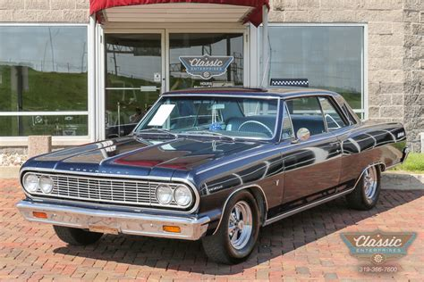 daytona blue 1964 chevrolet malibu ss for sale mcg