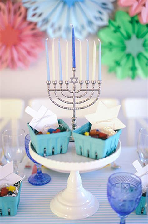 Kid Friendly Hanukkah Tablescape   Evite