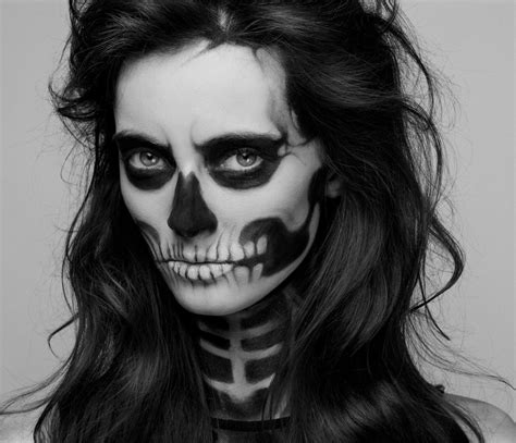 Makeup Sk Ll reved vintage diy skeleton costume