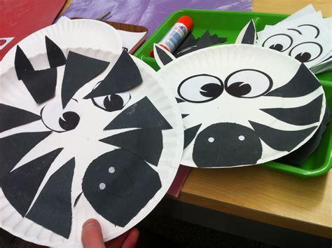 Zebra Paper Plate Craft - best 25 safari crafts ideas on safari