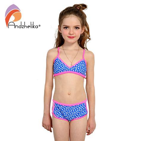 kids swimwear girls aliexpress aliexpress com buy andzhelika swimsuit girl s bikini