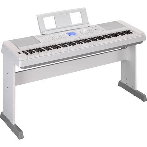 Keyboard Yamaha Dgx 660 yamaha dgx 660 portable grand digital piano white dgx660wh