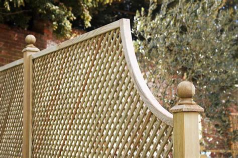 diagonal trellis corner arch panel privacy panels