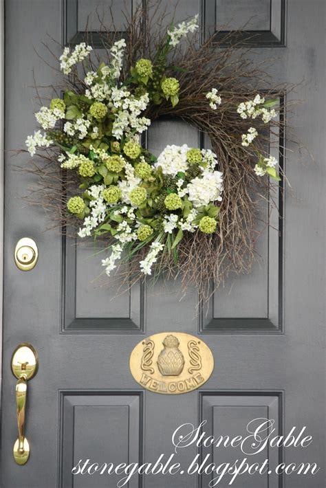 summer wreath tutorial stonegable
