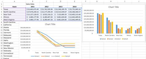 generate graphs working with data series in excel pryor