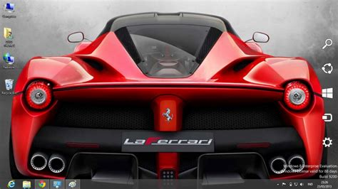 car themes for windows 8 1 free download laferrari car windows 8 theme ouo themes
