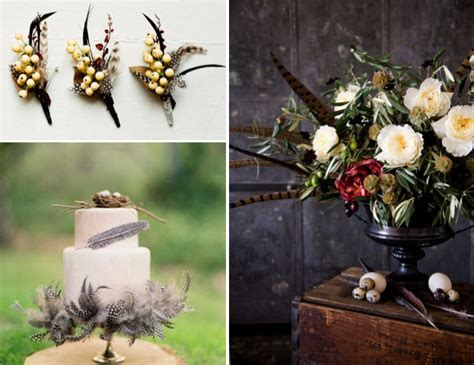 fall centerpieces with feathers life of a vintage lover fall decorating inspirations