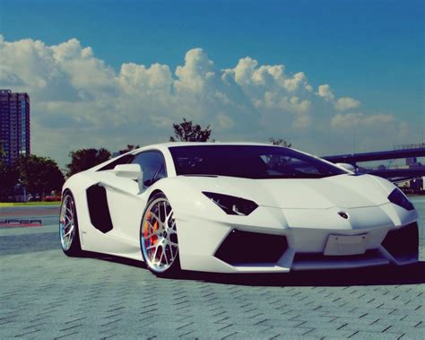 white lamborghini aventador wallpaper 1280x1024 white lamborghini aventador chrome rims desktop