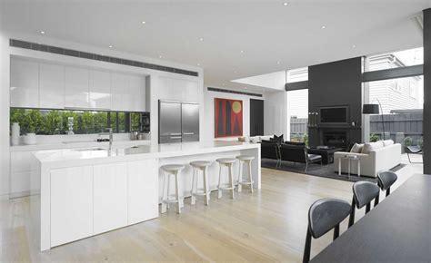 Artistic Kitchen Designs Grey Kitchen With White Worktop Decosee