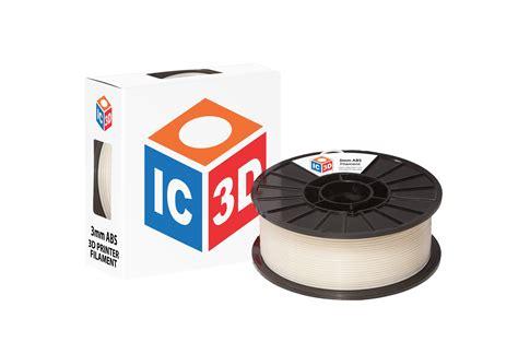 Filament 3d Printer ic3d abs 3d printer filament ic3d printers