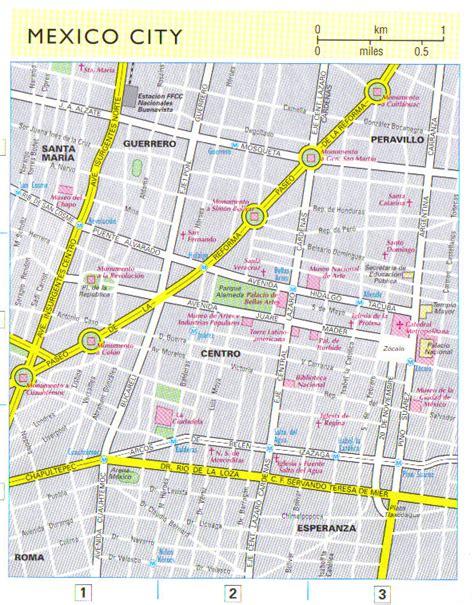 mexico city map map of mexico city mexico city maps mapsof net