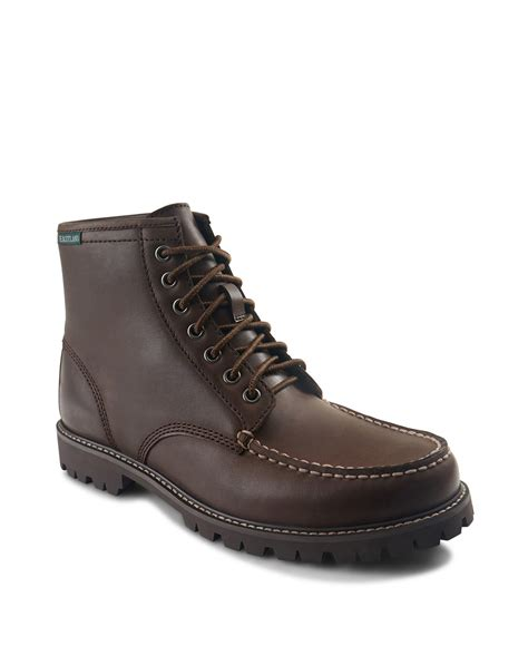 eastland s boots eastland 1955 edition lucas boots in brown for lyst