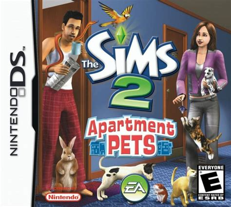 Sims 2 Apartment Pets The Sims 2 Apartment Pets Ds