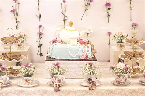 Tea Bridal Shower Ideas by Alia S Afternoon Tea Bridal Shower Time2partay
