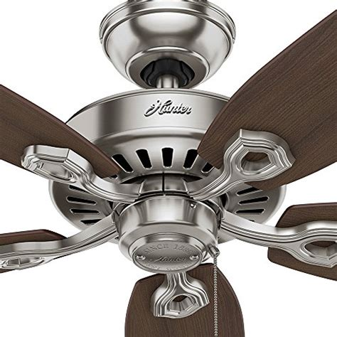 builder elite ceiling fan 53241 builder elite 52 quot ceiling fan brushed nickel