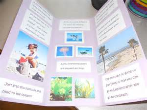 travel brochure templates for students biome travel brochure as an assessment the
