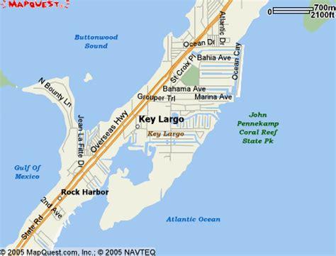 where is key largo florida map key largo map