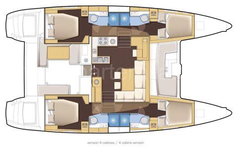 catamaran floor plans luxury lagoon 450 catamaran ibiza and mallorca yacht