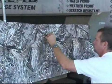 camo clad for boats part 4 of 4 how to videos boat camouflage install