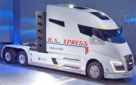 nikola electric semi truck nikola unveils its hydrogen powered semi truck supply