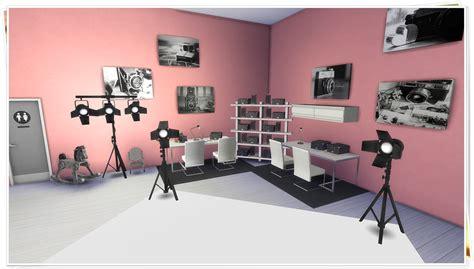 design fashion in a fashion studio sims my sims 4 blog photography studio by tacha75