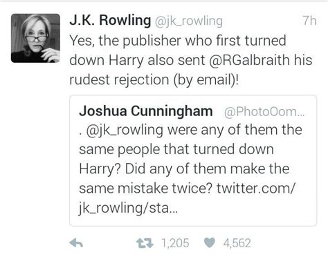 Rejection Letter Jk Rowling J K Rowling Shares The Rejection Letters For Cuckoo S Calling On Harry Potter Amino