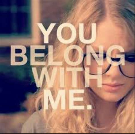 you belong with me taylor swift you belong with me fan video youtube