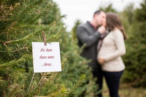 christmas tree farm maternity session nj maternity