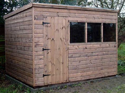 pent roofed garden sheds  sheds unlimited