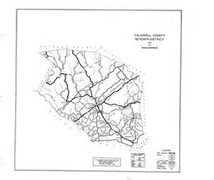 map of caldwell caldwell county maps