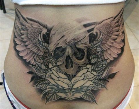 tattoos skulls lower back highest quality tattoo art
