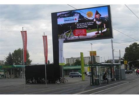 Led Advertising Screen Billboard Structure Led Screen