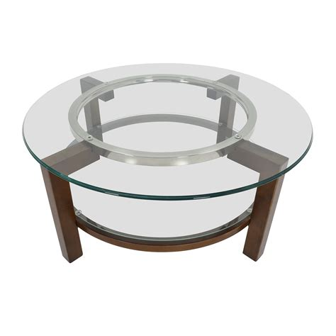 80 cb2 cb2 glass top coffee table tables