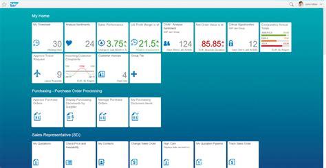 sap fiori launchpad home page sap fiori design guidelines