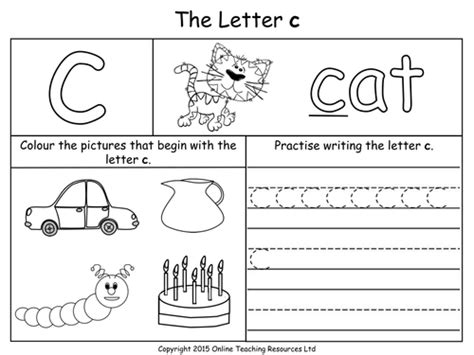letter c worksheets for toddlers resultinfos