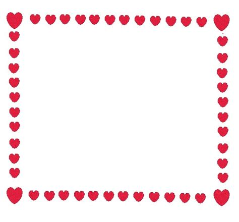 free printable valentine stationary borders free printable valentine borders clipart collection