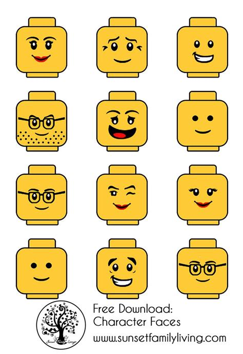 25 best ideas about lego faces on pinterest lego