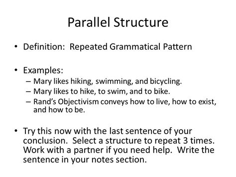 sentence pattern that repeats how to give them rhetorical punch ppt video online download