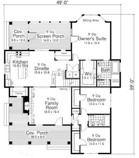 farmhouse style floor plans best 20 small farmhouse plans ideas on