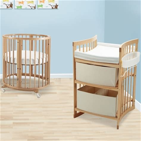 Mini Crib With Changing Table Stokke Sleepi 2 Nursery Set Mini Bundle Crib And Care Changing Table In Free