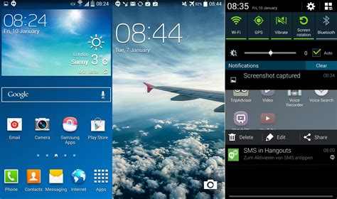 android firmware galaxy s4 kitkat firmware leaks with white status icons and other ui tweaks