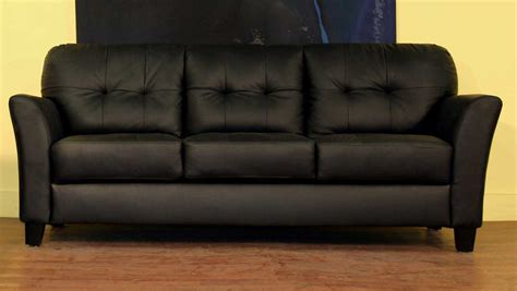 ebony couch wholesale interiors lf48 black sofa lf48 sofa at