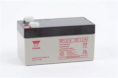 Batery Ups Yuasa Np 1 2 12 yuasa battery np 1 2 12 12v 1 2ah eastern transformers