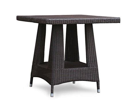all weather wicker dining table riviera all weather wicker dining table 80cm x 80cm