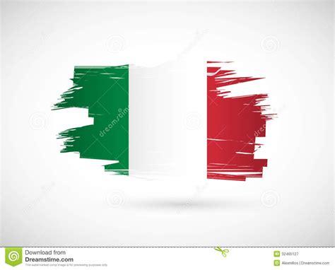 Toner Blueprint italian ink brush flag illustration design royalty free