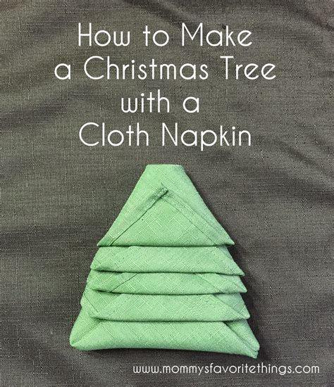mommy s favorite things how to make a christmas tree out