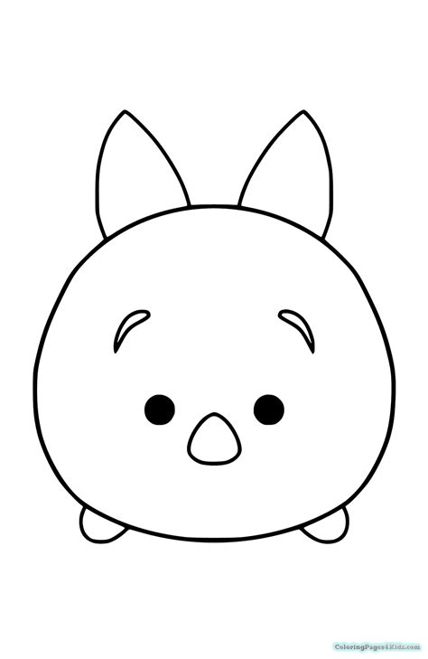 minnie mouse tsum tsum coloring page tsum tsum disney coloring pages coloring pages for kids