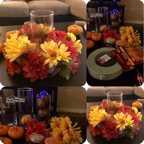 7 fall centerpiece and easy to make all